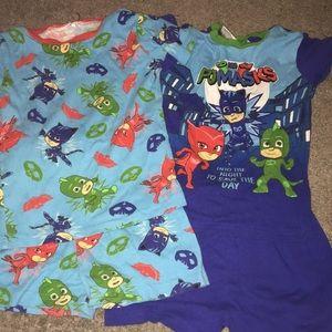 Other - 2 Pairs of PJ Masks Pajamas